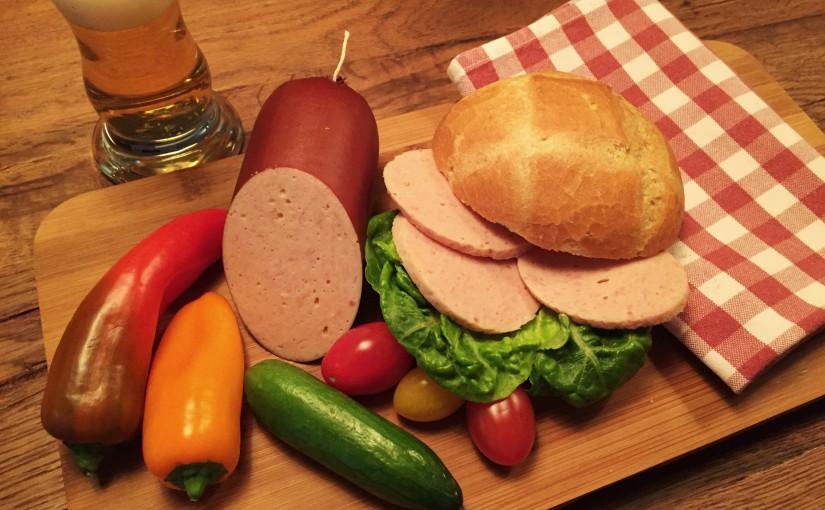 Geflügelfleischwurst aus 100 % Hähnchenfleisch