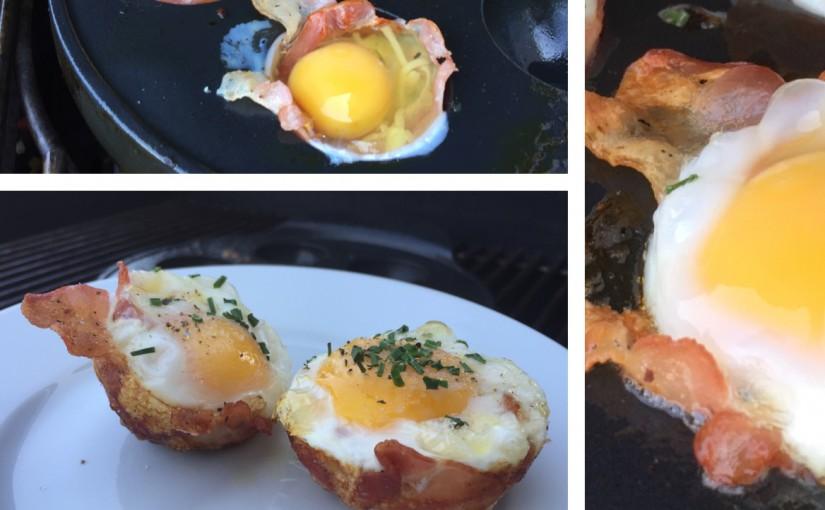 """Die Grillküche Pattensen wünscht """"Frohe Ostern"""" mit einem Frühstücks-Oster-Ei im Speckmantel"""