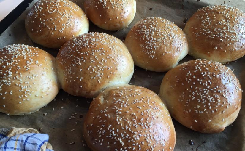 Backe-Backe-Burgerbrötchen