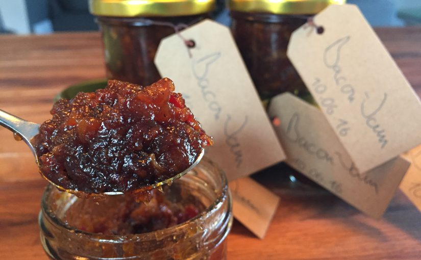 """Bacon-Jam"" – oder Chutney vom Paarhufer"